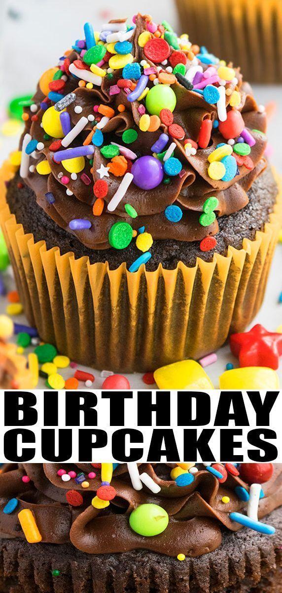Photo of BIRTHDAY CUPCAKES RECIPE – Schnelles und einfaches Rezept für Cupcakes zum Geburtstag … –  …
