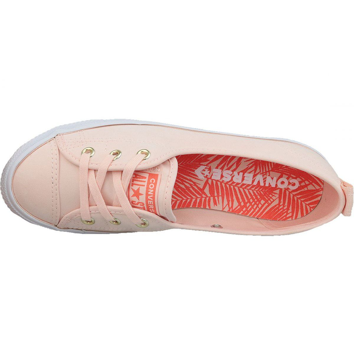 Converse Chuck Taylor All Star Ballet Lace Slip 564313c Orange Shoes Chuck Taylors Converse Chuck Taylor Converse Chuck Taylor All Star