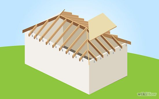How To Build A Hip Roof Hip Roof Roof Roof Drain