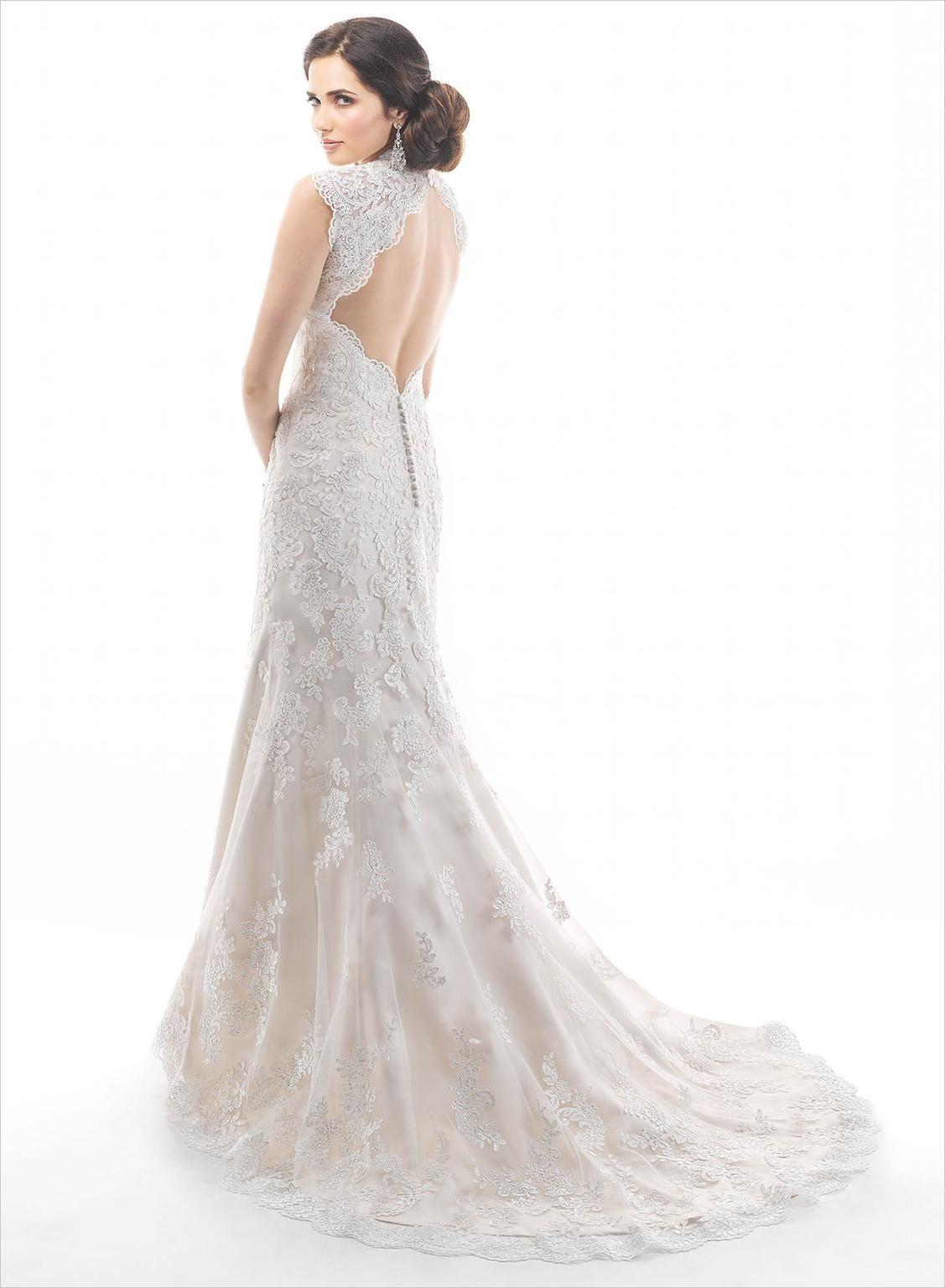 Maggie Sottero Jessica 4ms912 Wedding Dress New Size 12
