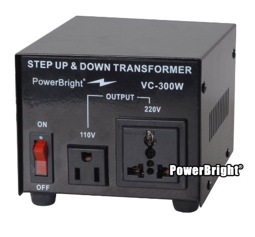 Power Bright Vc300w Voltage Transformer 300 Watt Step Updown Converter 110120 Volt 220240 Volt Learn More By Visiti Converter Transformers Travel Adapter