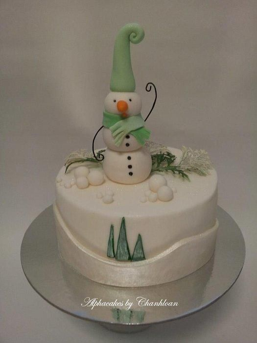 Frosty - Cake by Chanhloan