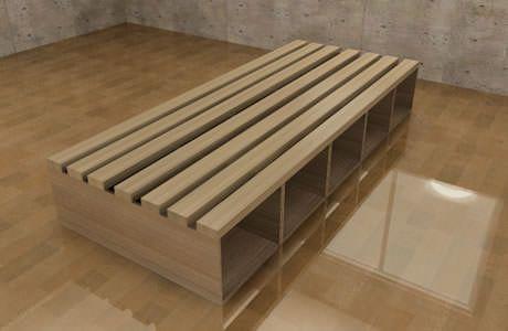 カラーボックスベッドの作り方/インテリアDIY