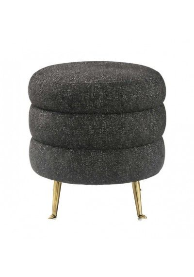 Strange Oval Grey Velvet Ottoman Gold Base Things To Create In Bralicious Painted Fabric Chair Ideas Braliciousco