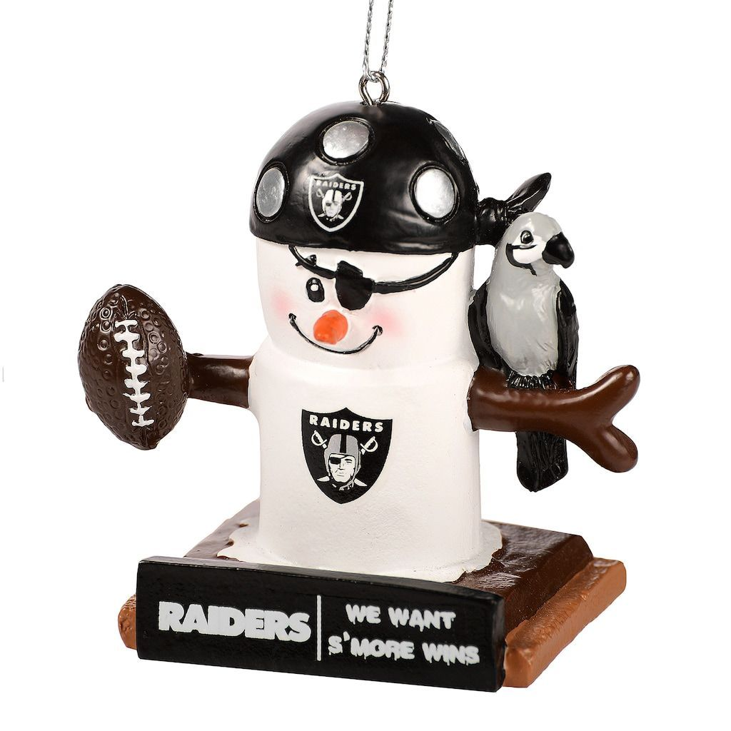 Forever Collectibles Oakland Raiders S\'more Snowman Christmas ...
