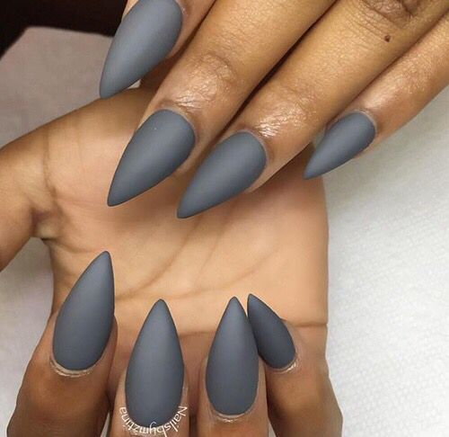40 Shape Short Nails To Make You Charming Page 2 Of 7 Sumcoco Blog Almond Acrylic Nails Stiletto Nails Short Trendy Nails