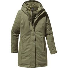 (Limited Supply) Click Image Above: Patagonia - Tres Parka (women's) - Spanish Moss