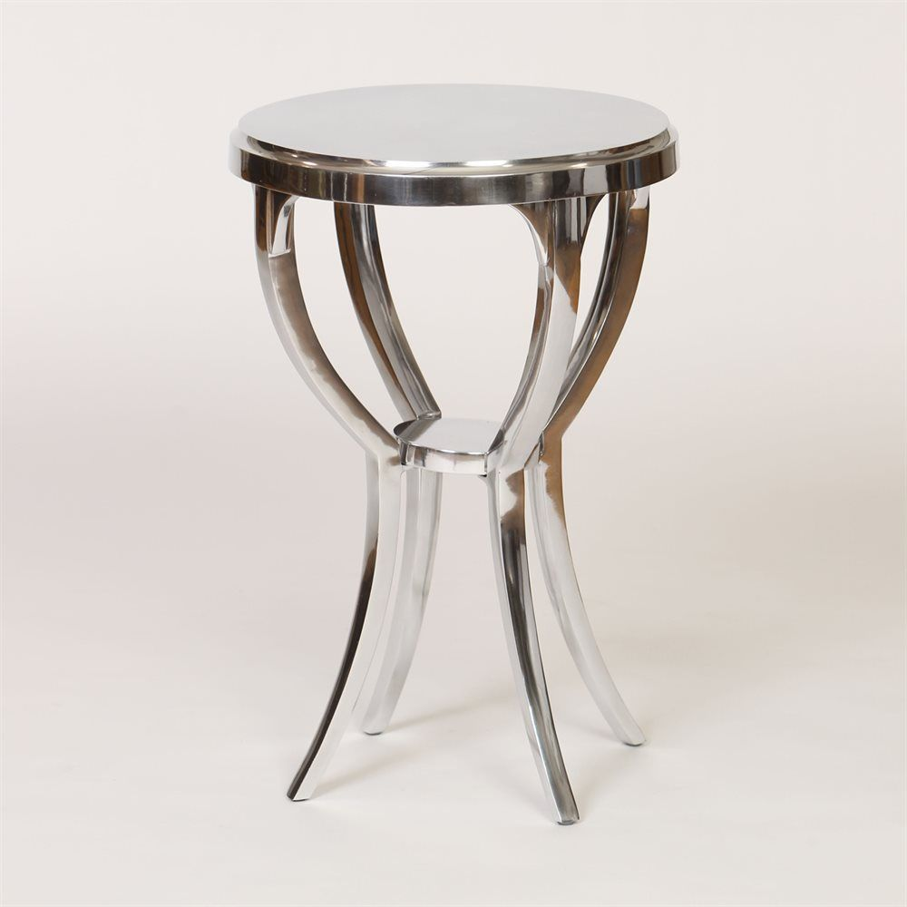 Prima Design Source GO0010F Round Side Table | ATG Stores 17d x 25h ...