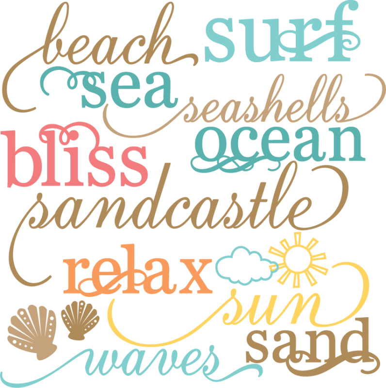 Download All about the beach... everything I love   Beach words ...