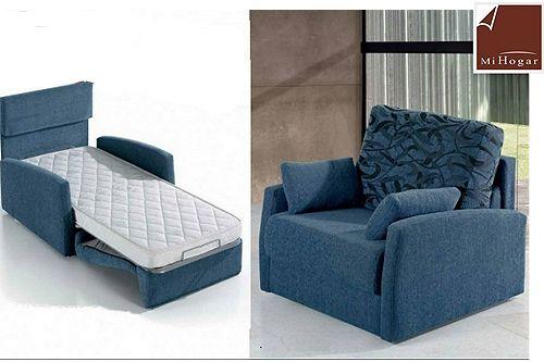 Sof cama individual curtains pinterest - Butacas individuales ...