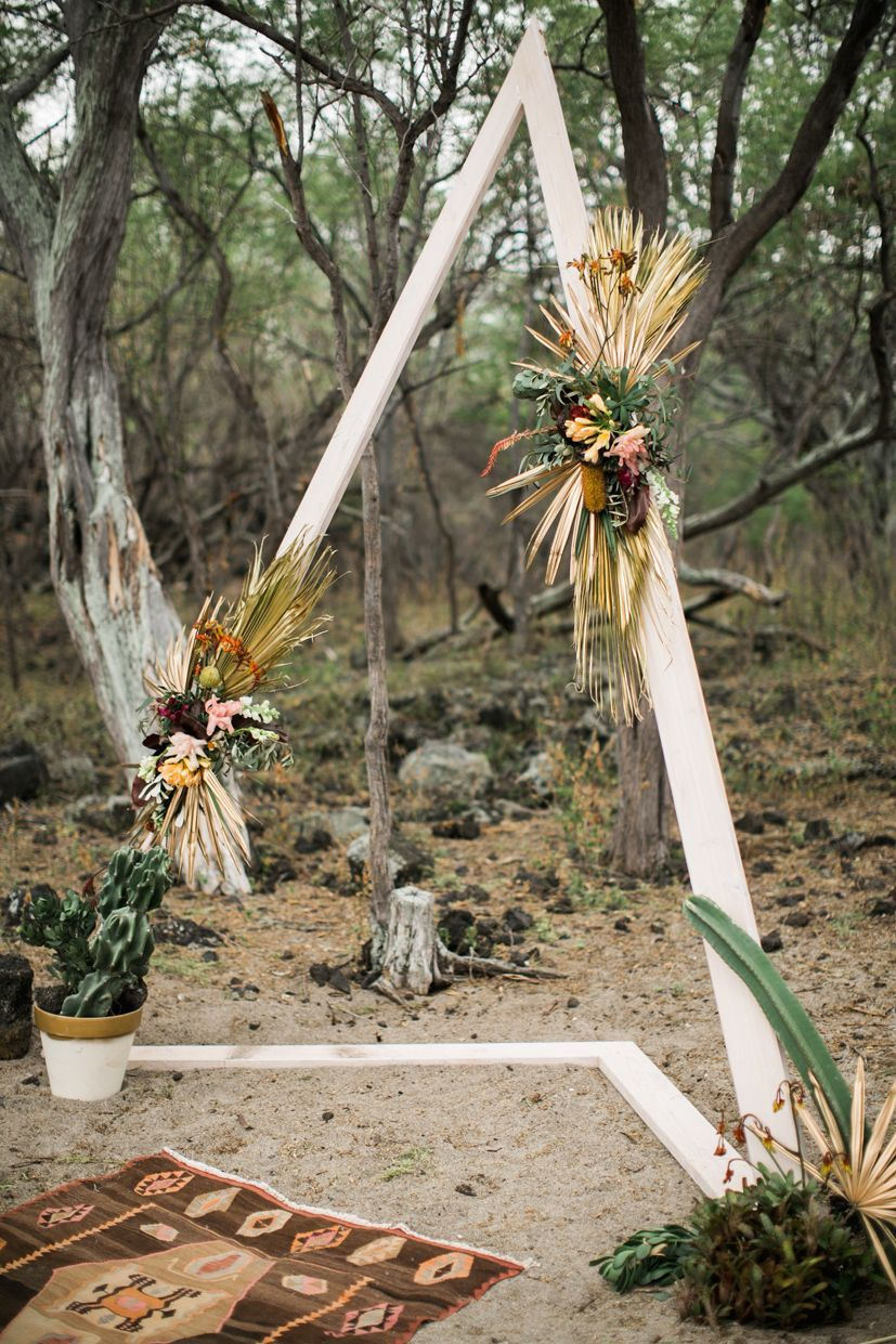 End Of The World Wedding Kona Wedding Coordinator Triangle