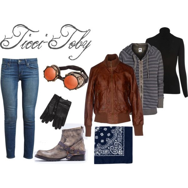 Quot Creepypasta Ticci Toby Inspired Outfit Quot By Oceana Jade