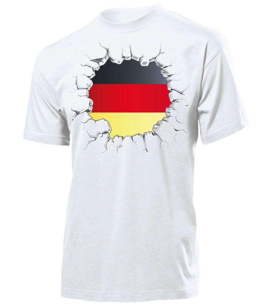 03f8453ce4c2 FUSSBALL - FANARTIKEL - Deutschland Herren T-Shirt Gr.S bis XXL - WM ...