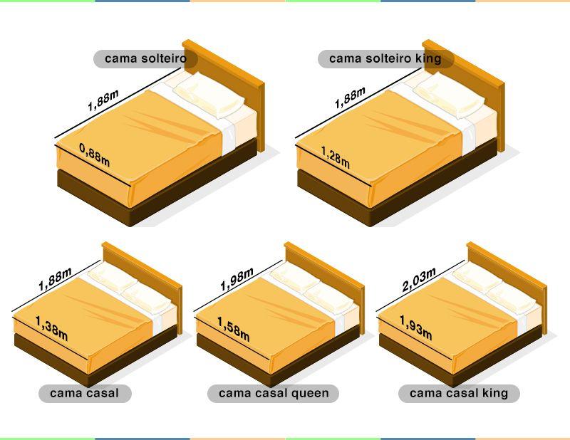 Medidas de camas sem complica o medidas de camas cama - Medidas estandar de camas ...