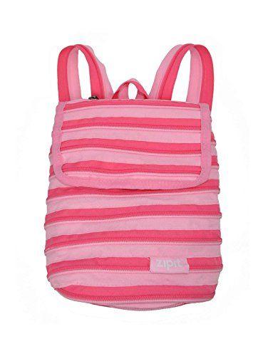 Original Zipit Mini Backpack Light And Dark Pink Shoulder Bag