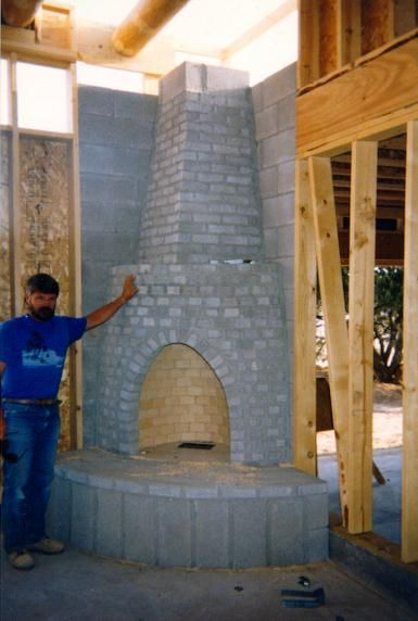 Kiva fireplace plans tucson kiva rumford rocky brittain for Kiva fireplaces