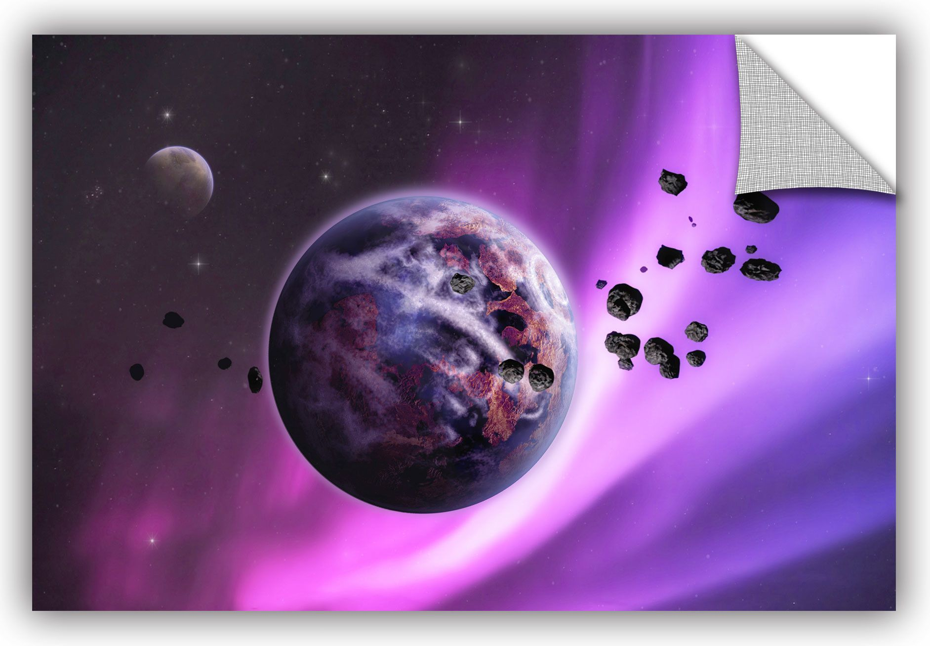 Deep Purple Space by Dragos Dumitrascu Photographic Print