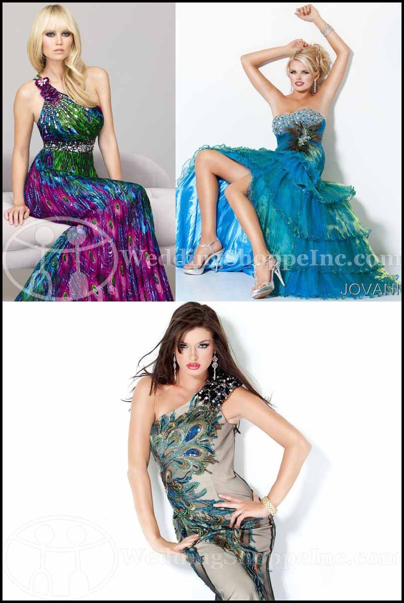 08eb9c0384 My Wedding Chat » Blog Archive Exotic Prom Dresses 2012  Find fab peacock  prom dresses at Wedding Shoppe now!