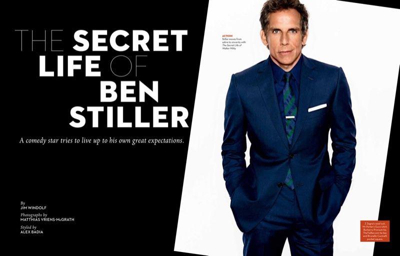 Ben Stiller Covers M Magazine