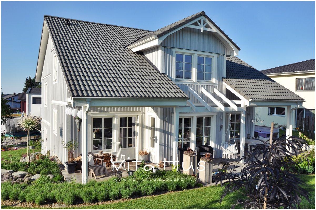 VitaHus *: Haus aussen | Beachy | Pinterest | Aussen, Schwedenhaus ...