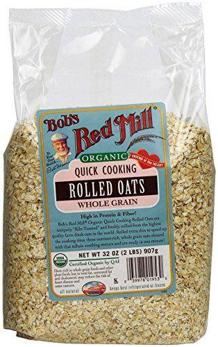 Patilen Com Deals Cooking Rolled Oats Organic Oats Bobs Red Mill