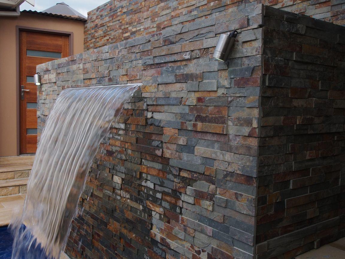Stacked stone cladding corner masculine vintage stone - Stone cladding on exterior walls ...