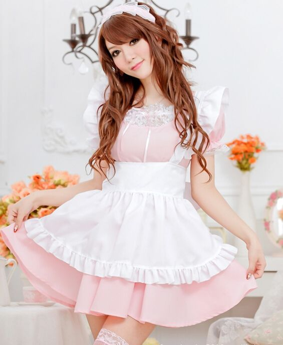 2014 Lingerie Uniform Barbie Princess Dress Pink Maid Cosplay Costume Seet Dance Show Wear-in Costumes from Novelty & Special Use on Aliexpress.com | Alibaba Group