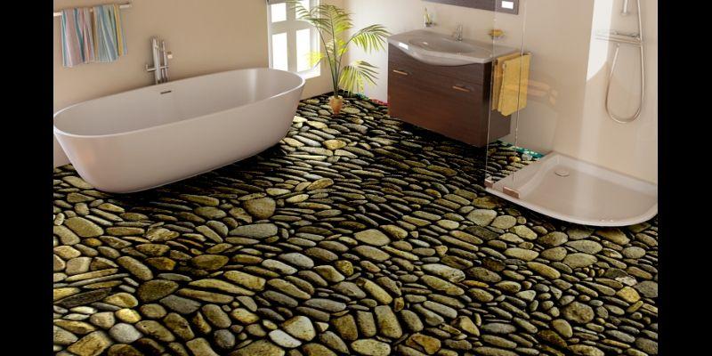 Stone Texture Vinyl Flooring