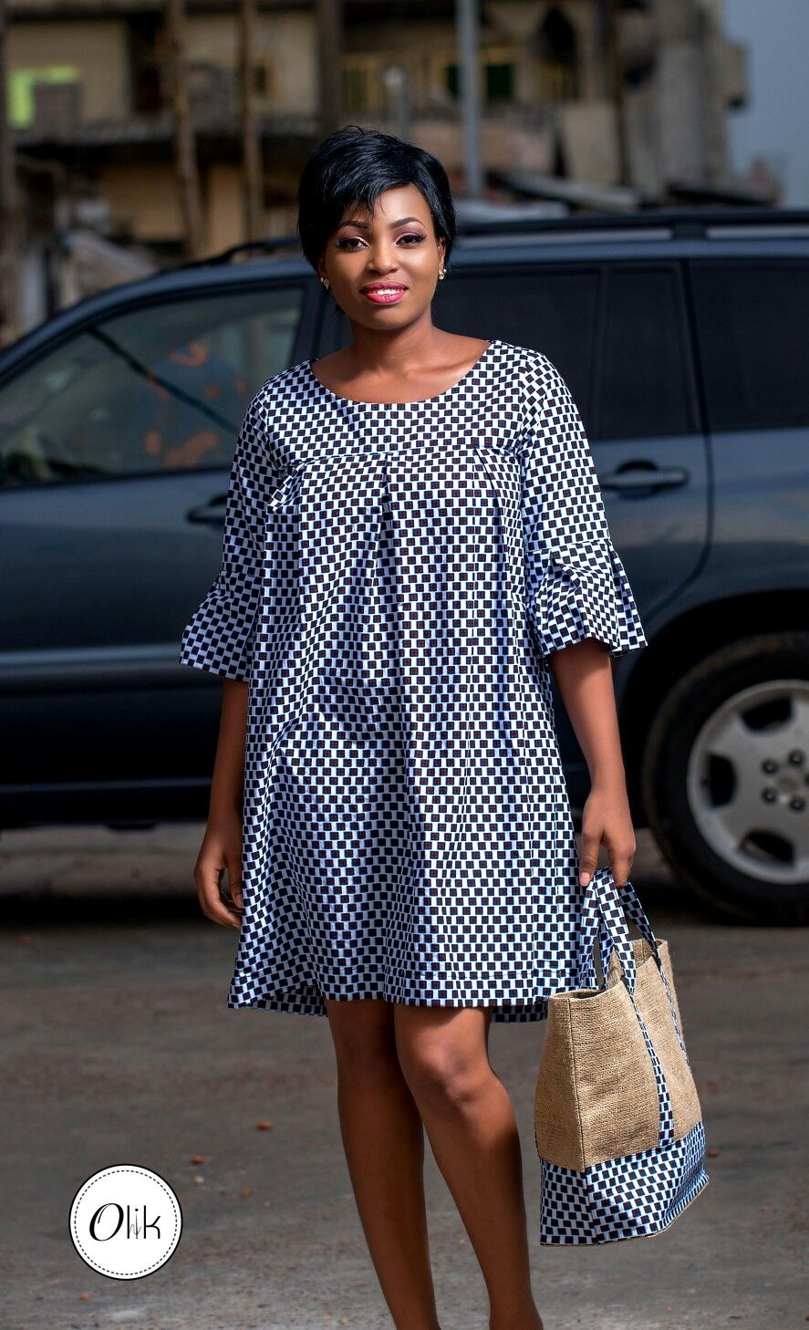 Robe courte pagne | Robe africaine