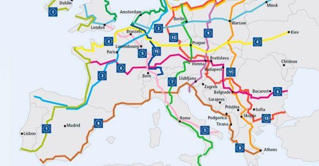 Europa en dos ruedas: construyen red de ciclovías que unirá 43 países