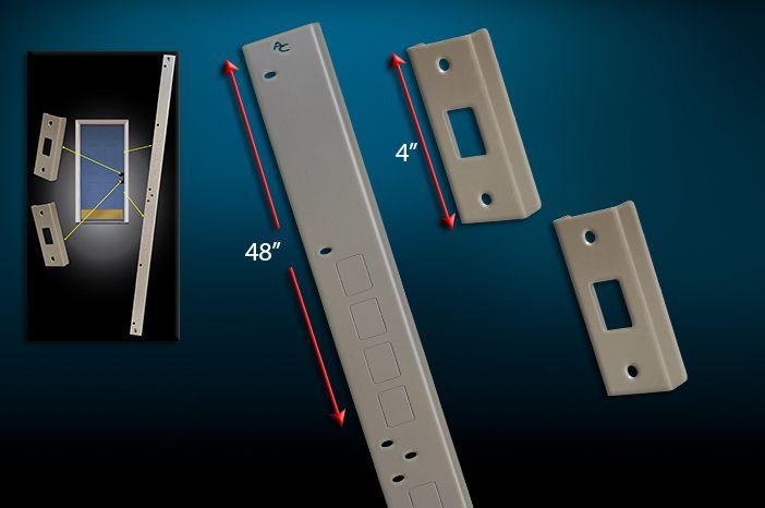 Door Jamb Armor - Door Security, Jamb Reinforcement Jamb Repair - Armor Concepts