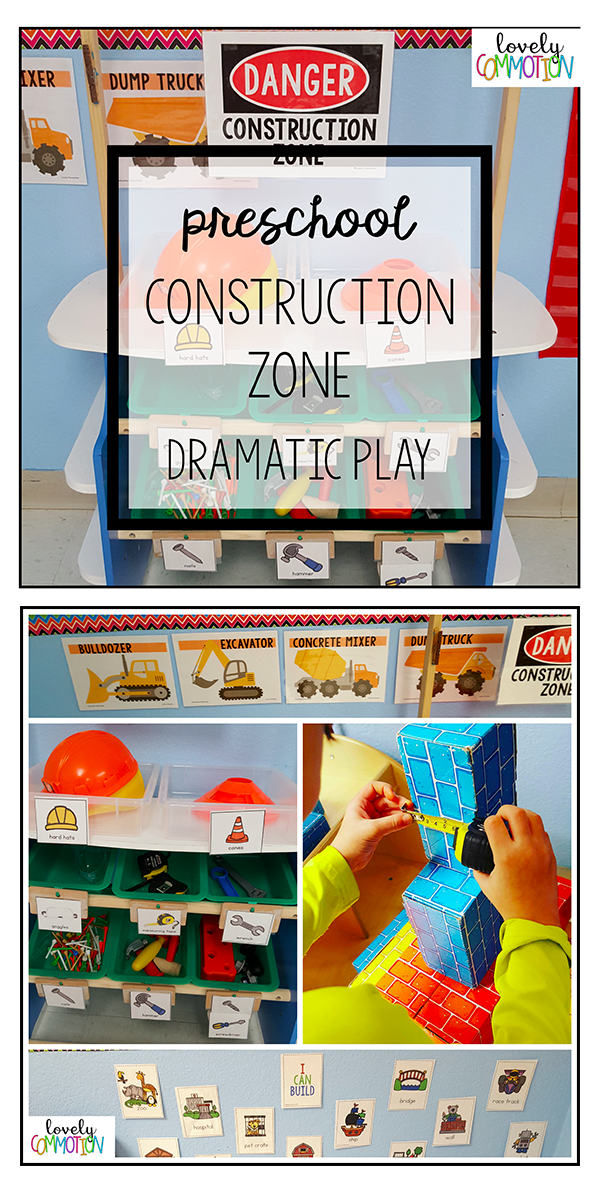 Construction Zone Dramatic Play Center