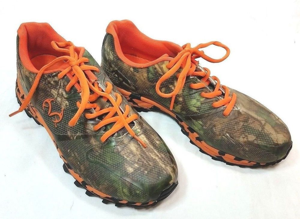 Realtree Outfitters Cobra Camo Green Orange Men Size 10 4E Athletic Shoe  Sneaker  Realtree  AthleticSneakers 0443471d6dd