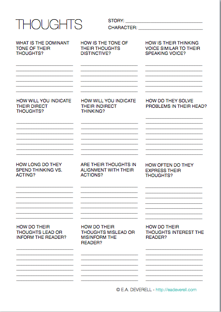 Writing Characters Worksheets Www.robertdee.org