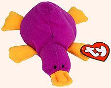 Patti - platypus - Ty Teenie Beanie Babies - 1997 McDonalds promotion 1155ada1150