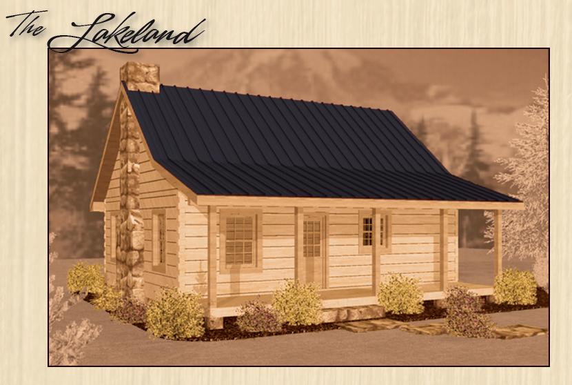 One Bedroom Log Cabin Daniel Boone Log Homes Dream Home
