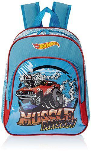 Buy #8: Hot Wheels Blue Children's Backpack (EI-MAT0056)