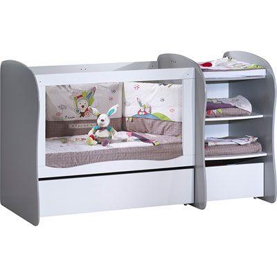 Lit Chambre Transformable 120x60 Pop Argile Lit Bebe Lit Bebe Bois Modele De Lit