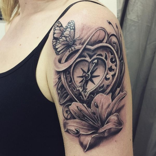 Butterfly tattoo sleeve ideas for women spiritual