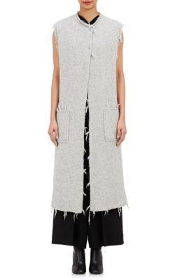 75f69a04487b MAISON MARGIELA Felted Alpaca-Blend Vest. #maisonmargiela #cloth #vest