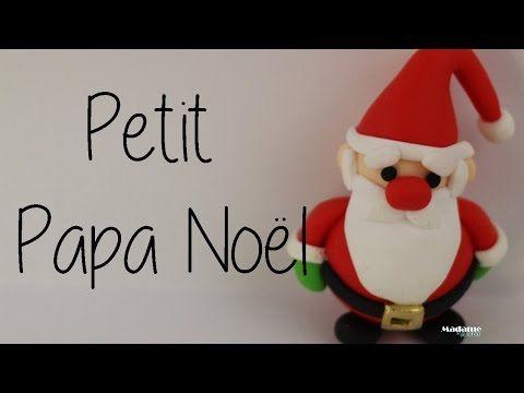 Petit Papa Noël Fimo, Little Santa Claus in Polymer Clay [English subtitles]. - YouTube