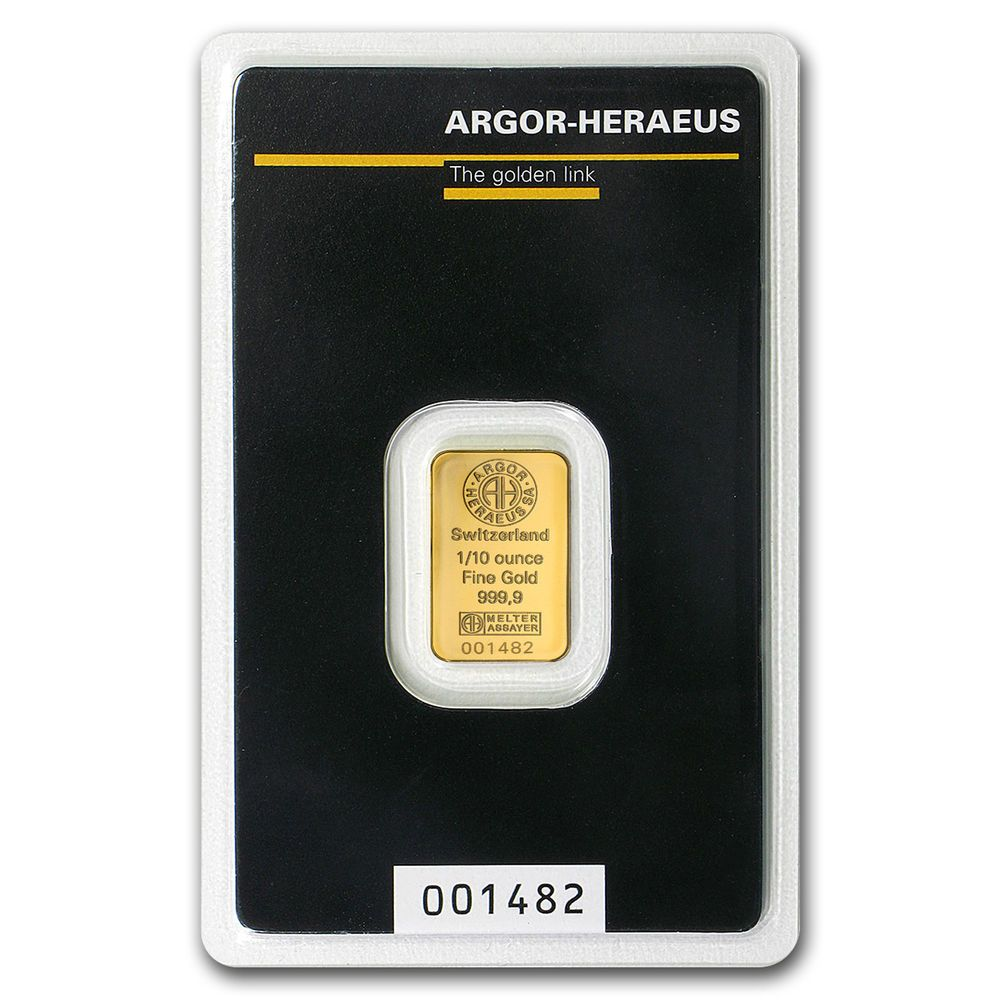1 10 Oz Gold Bar Argor Heraeus Sku 92092 Gold Bars For Sale Gold Bar 10 Things