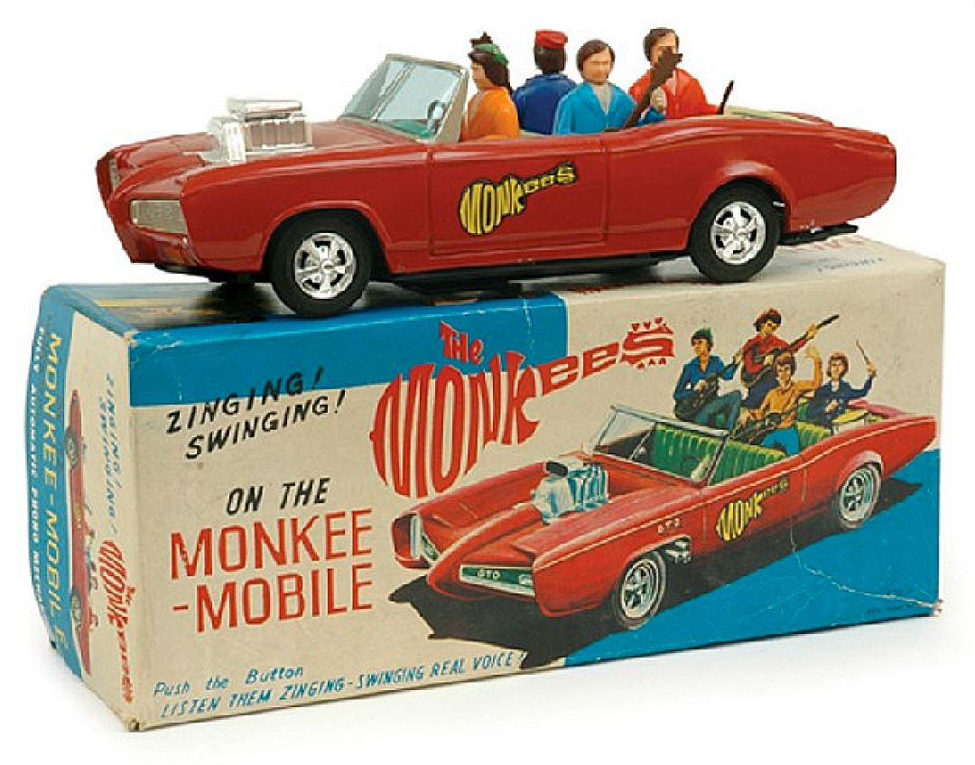 The Monkee Mobile from \