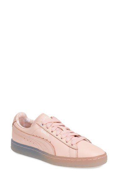 tenis puma rosa mujer