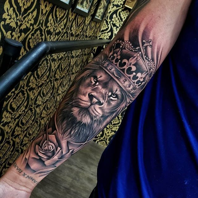 200 Amazing Tattoo Designs Ideas That You Ll Love Tatouage Lion Tatouage Tatouage Avant Bras