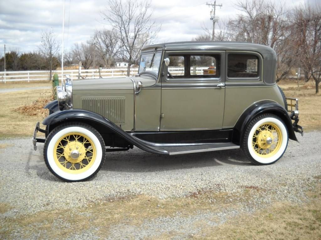 1931 ford model a victoria for sale hemmings motor news for Garage ford romans