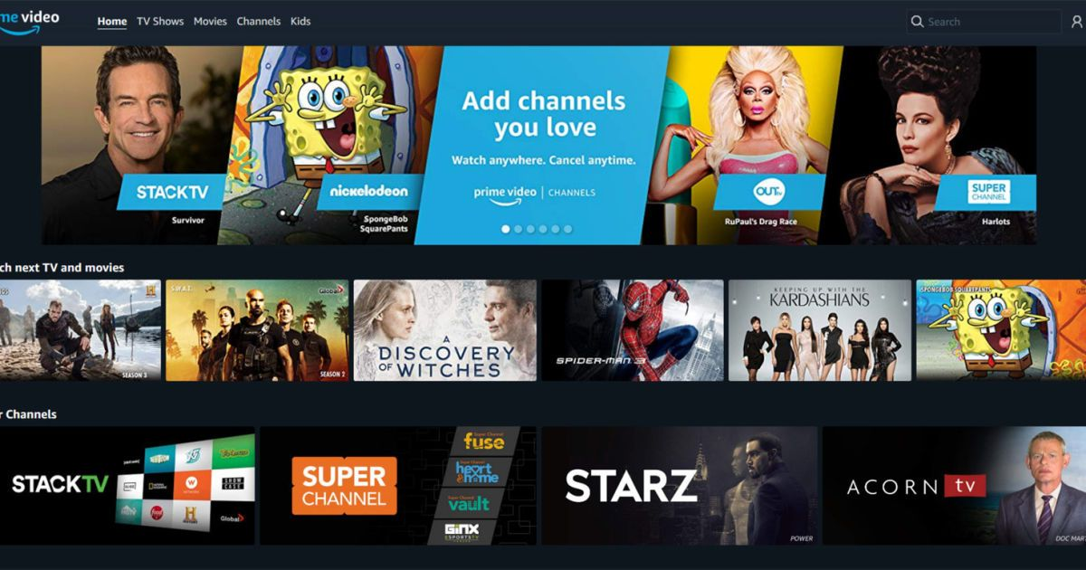 Amazon Prime Video Channels are coming to Canada || Amazon ...