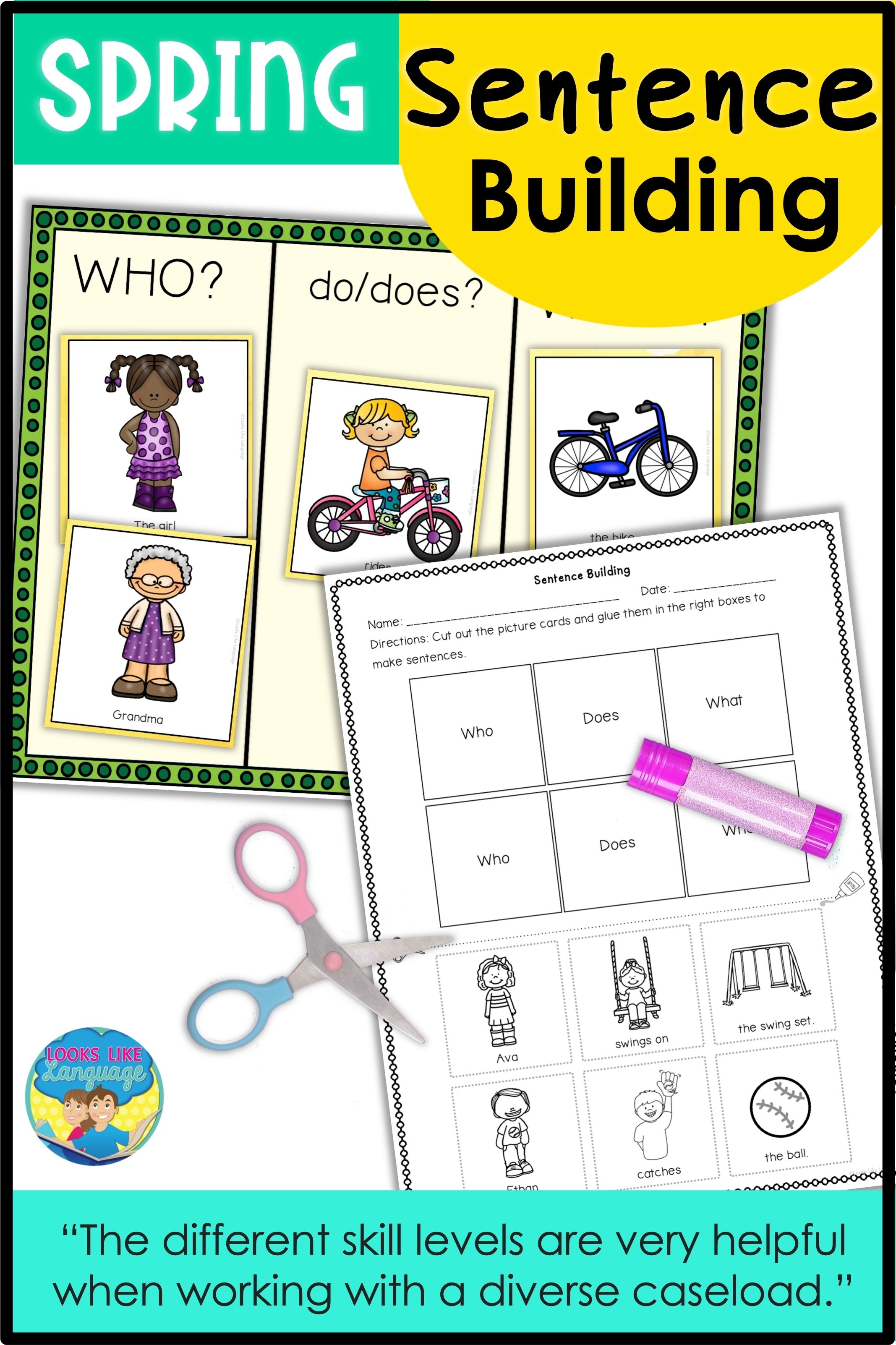 Use Pictures For Building Sentences To Build Better