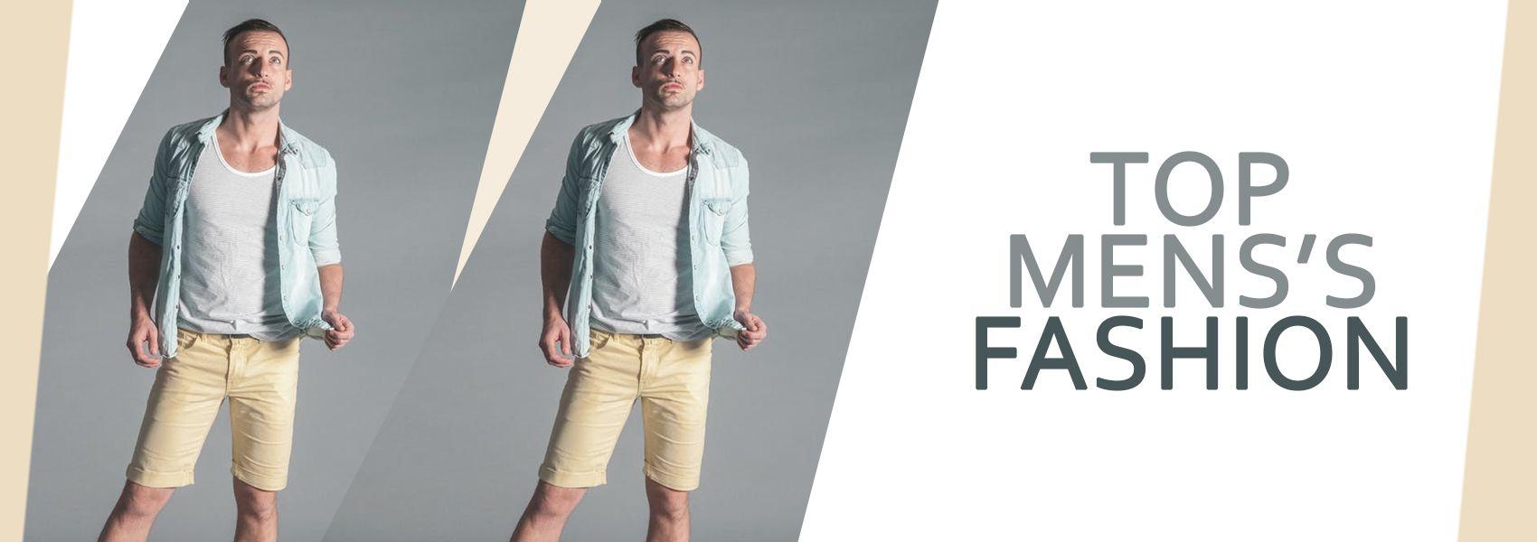 Mens fashion banner design for fashion store , creative ...