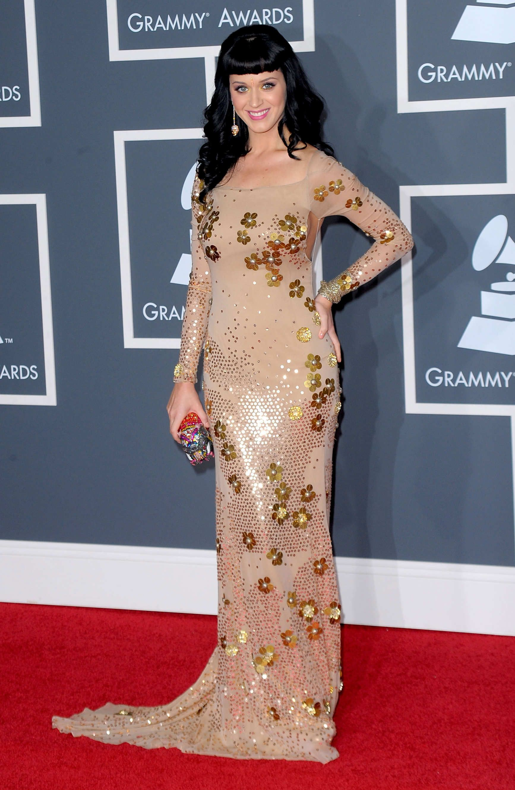 Katy Perry Covered Herself In Footballs Katy Perry Red Carpet Looks Fashion